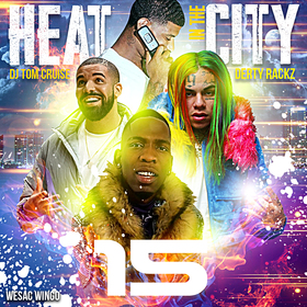Heat In The City 15 DJ Tom Cruise front cover