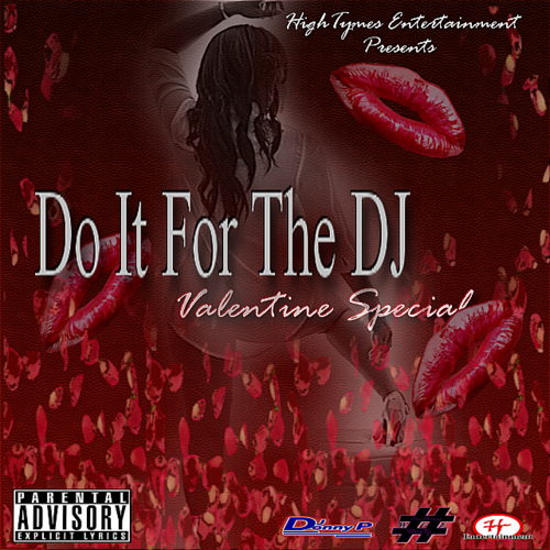 Do It For The DJ (Valentine Special) DJ Donny P Front Cover