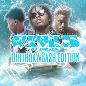 Street Wave 5: Birthday Bash Edition DJ Tokars front cover