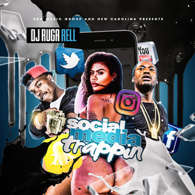 Social Media Trappin DJ Ruga Rell front cover