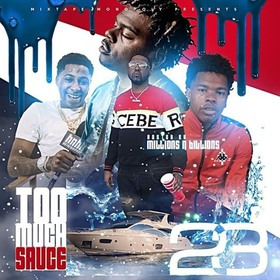 Too Much Sauce 23 DJ Smirk front cover