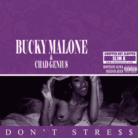 Dont Stre$$ (Chopped Not Slopped Remix) Bucky Malone front cover
