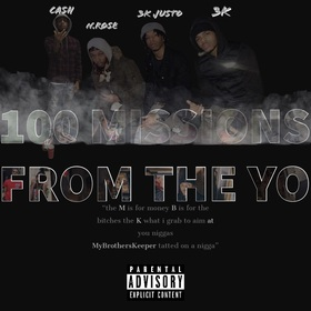 100 Missions From The Yo MBKFTR front cover