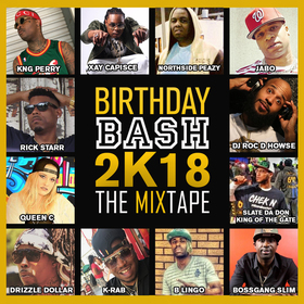 BIRTHDAY BASH 2K18 DJ ROC D HOWSE front cover