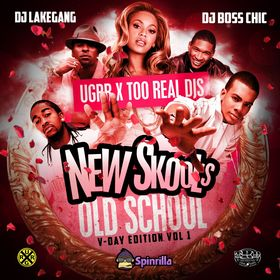 The New Skool's Old Scool: Spinrilla Exclusive DJ LakeGang front cover