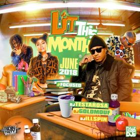 Lit This Month (June 2018) DJ Testarosa front cover