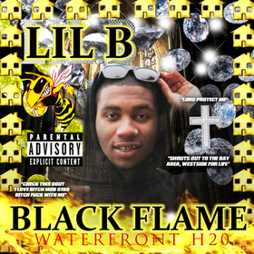 Black Flame Lil B front cover