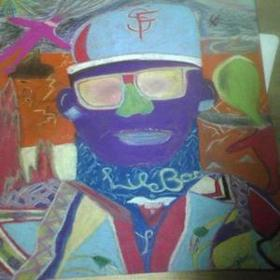 Blue Eyes Lil B front cover
