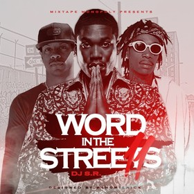 Word In The Streets 11 DJ S.R. front cover