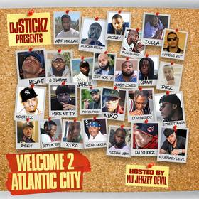 Welcome 2 Atlantic City teamdjstickz front cover