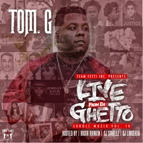 Skroll Muzik 10 (Live From The Ghetto) Tom G front cover