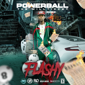 powerball millticket flashy front cover