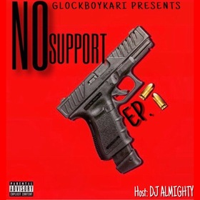 No Support GlockBoyKari front cover