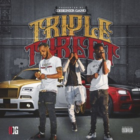 Triple Threat Designer Gang front cover