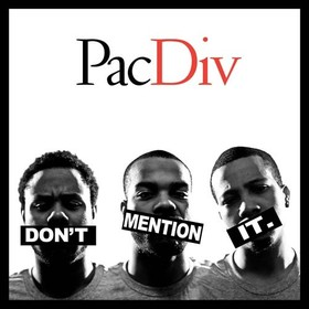 Don't Mention It Pac Div front cover
