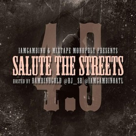 Salute The Streets 4.5 (Hosted By Bambino Gold) DJ S.R. front cover