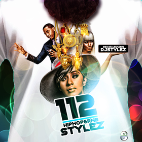 Hiphop & Rnb Stylez Vol 112 DJ Stylez front cover