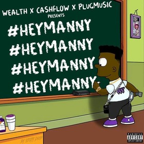 Hey Manny YungManny front cover