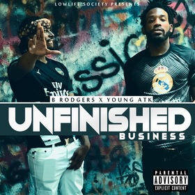 Unfinished Business B Rodgers & Young Atk front cover