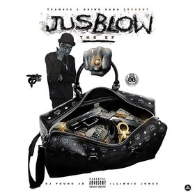 JusBlow (EP) JusBlow front cover