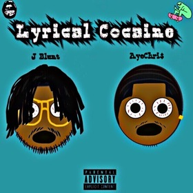 Lyrical Cocaine AyeeChri$ front cover