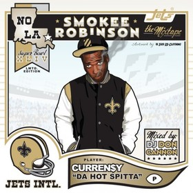 Smokee Robinson Curren$y front cover