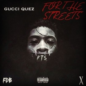 For the streets Gucci quez front cover
