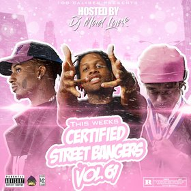 This Weeks Certified Street Bangers Vol.61 DJ Mad Lurk front cover