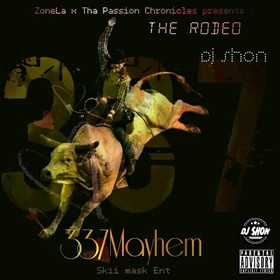 The Rodeo 337 Mayhem front cover