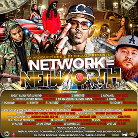 A i Productions & DJ Focuz Presents Network = Networth 11 DJ Ike The Producer front cover