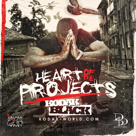 Heart Of The Projects Kodak Black front cover