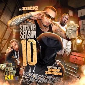 Stick Up Season Vol. 10 (Hosted By Sonny Soprano) Pook Hefner front cover