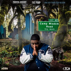 Long Way from Camp Wisdom Fat Pimp front cover