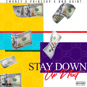 STAY DOWN DJ Steel ATL front cover