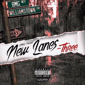 New Lanes -Three Official King Moni front cover