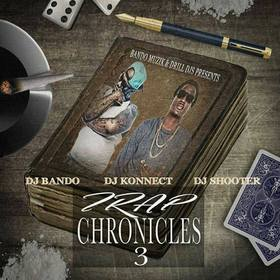 Trap Chronicles 3 DJ Konnect  front cover