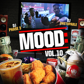 Mood: Vol. 10 (Bad Boys) DJ Phase 3 front cover