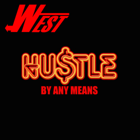 Hustle By Any means West front cover