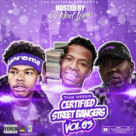 This Weeks Certified Street Bangers Vol. 63 DJ Mad Lurk front cover