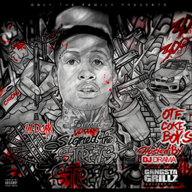 Signed To The Streets Lil Durk front cover