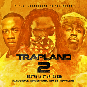 Trapland 2 DJ Suspence front cover