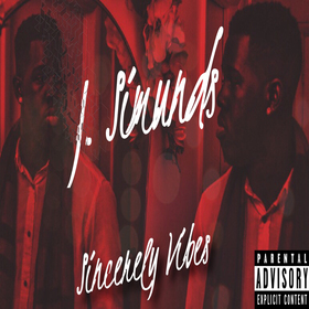 Sincerely Vibes J. Simunds front cover