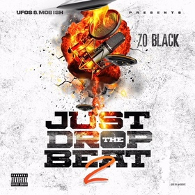 Just Drop The Beat 2 Zo Black front cover