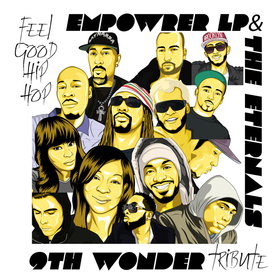 9th Wonder Tribute Empowrer LP & The Eternals front cover