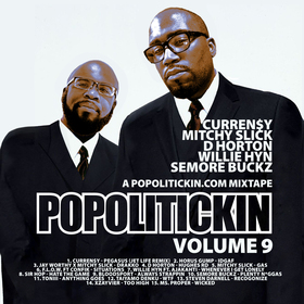 Po Politickin: The Mixtape volume 9 DJ Period front cover