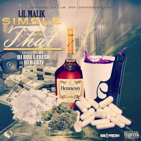 Simple As That Lil Malik front cover