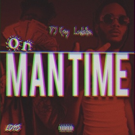 On Man Time Lul Sha & DJ Key front cover