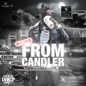 WildLife Luwop - Live From Candler Dj Hustle Man front cover
