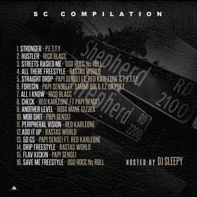 SC Compilation Tape Dj Sleepy  front cover