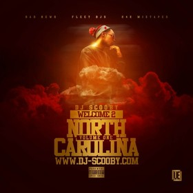 Welcome 2 North Carolina DJ Scooby front cover